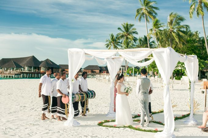 Grace & Geral Destination Wedding in Maldives by Asad's Photography - 014
