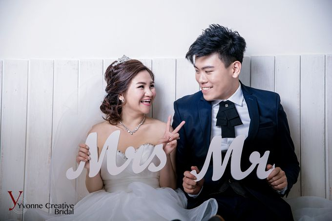 Zhen Yong & Clarice by Yvonne Creative Bridal - 002