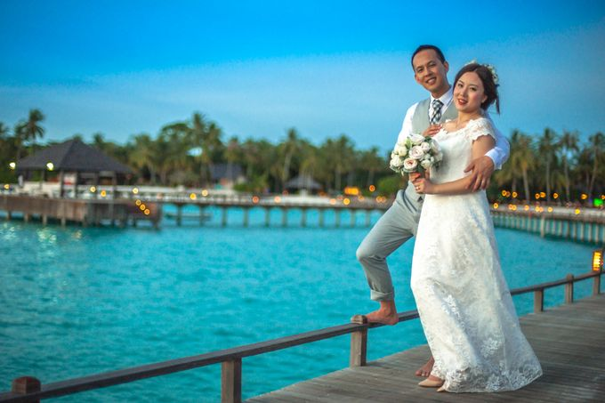 Grace & Geral Destination Wedding in Maldives by Asad's Photography - 001