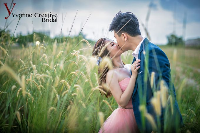 Zhen Yong & Clarice by Yvonne Creative Bridal - 010