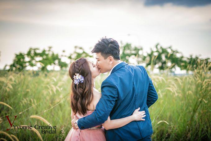 Zhen Yong & Clarice by Yvonne Creative Bridal - 011
