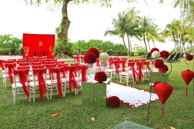 An Oriental Wedding by the Beach by Shangri-La Rasa Sayang Resort - 001