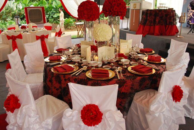 An Oriental Wedding by the Beach by Shangri-La Rasa Sayang Resort - 008