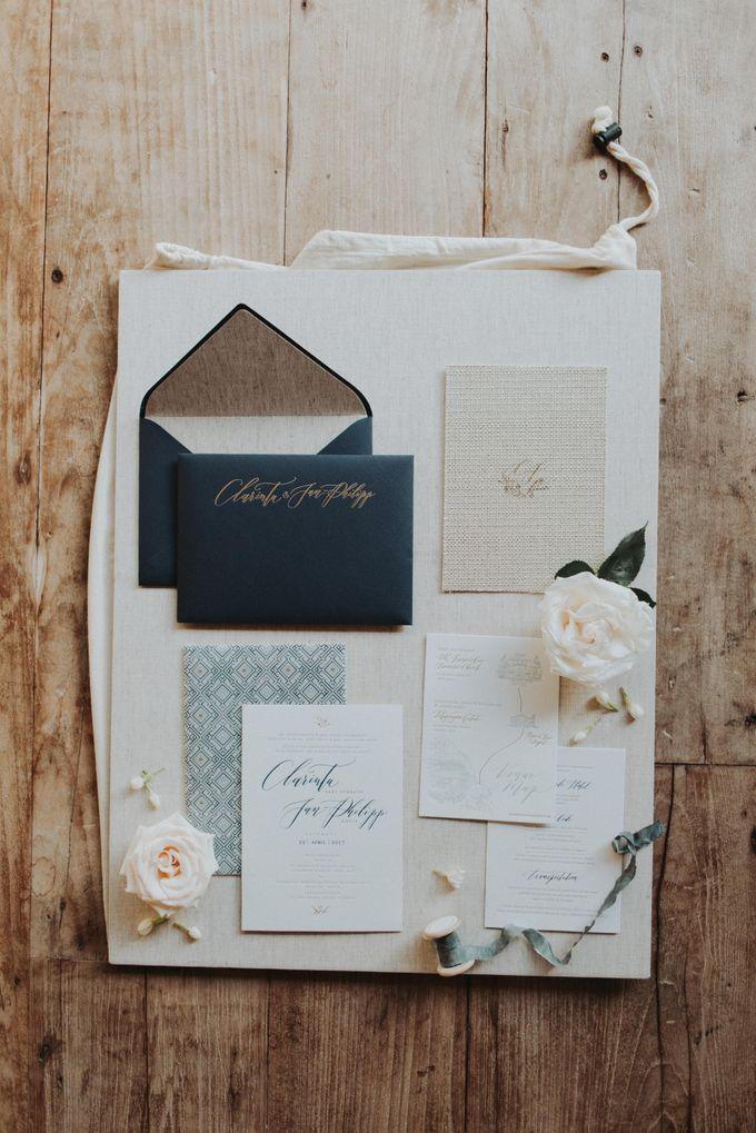Clarinta & Jan Philipp Wedding by Veronica Halim Calligraphy - 001