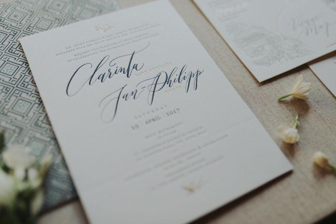 Clarinta & Jan Philipp Wedding by Veronica Halim Calligraphy - 003