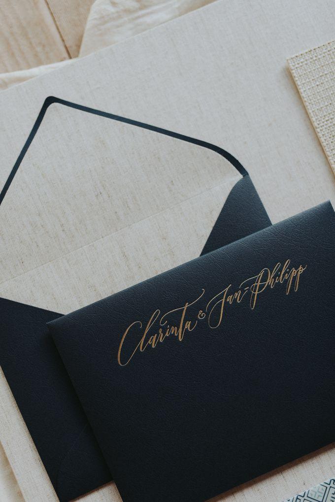 Clarinta & Jan Philipp Wedding by Veronica Halim Calligraphy - 002