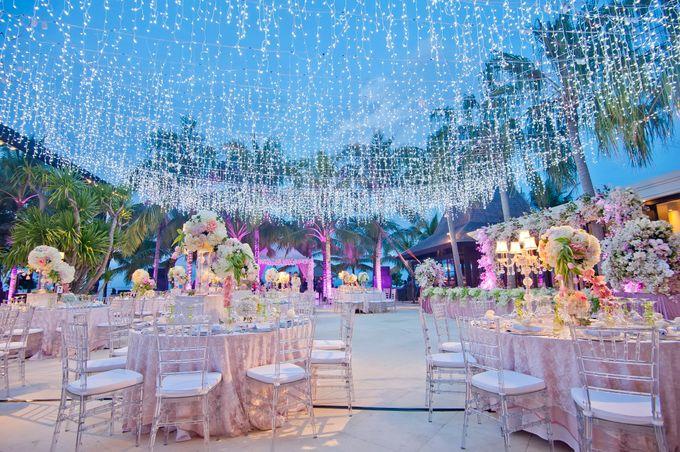 Michelle Worth Wedding Reception By The Royal Santrian Luxury Beach