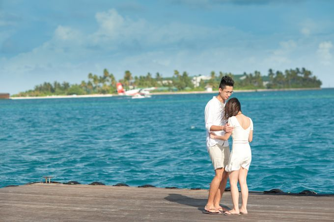 Ophelia and Louis Honeymoon in Maldives by Conrad Maldives Rangali Island - 001