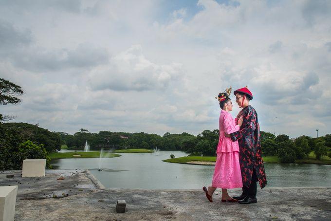 prewedding outdoor amel & felix by Francis'k Bride - 001