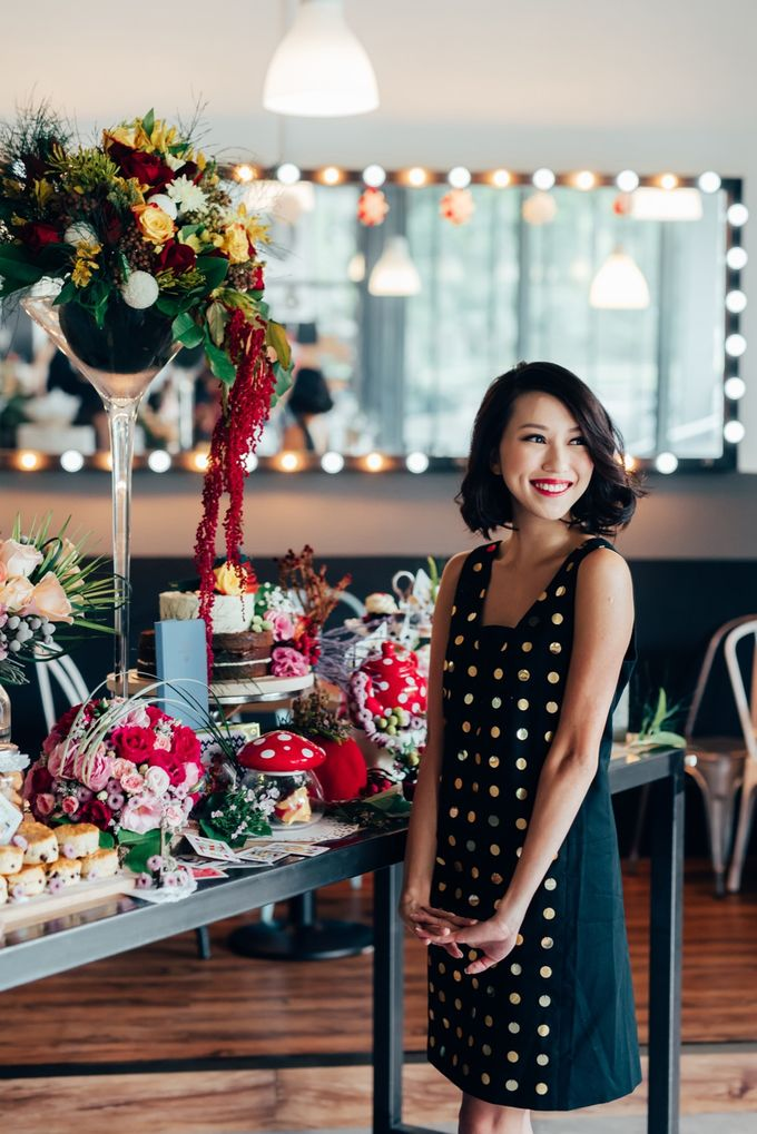 Madhatter's Party Themed Shoot x Melissa Koh by Ever & Blue Floral Design - 022