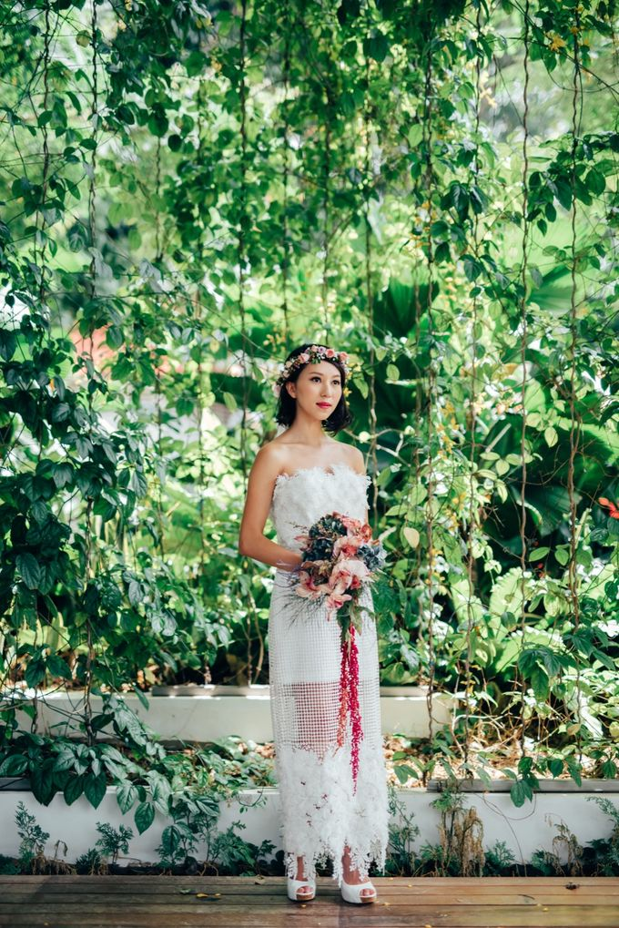 Styled Wedding Shoot with Melissa C Koh by Ever & Blue Floral Design - 002