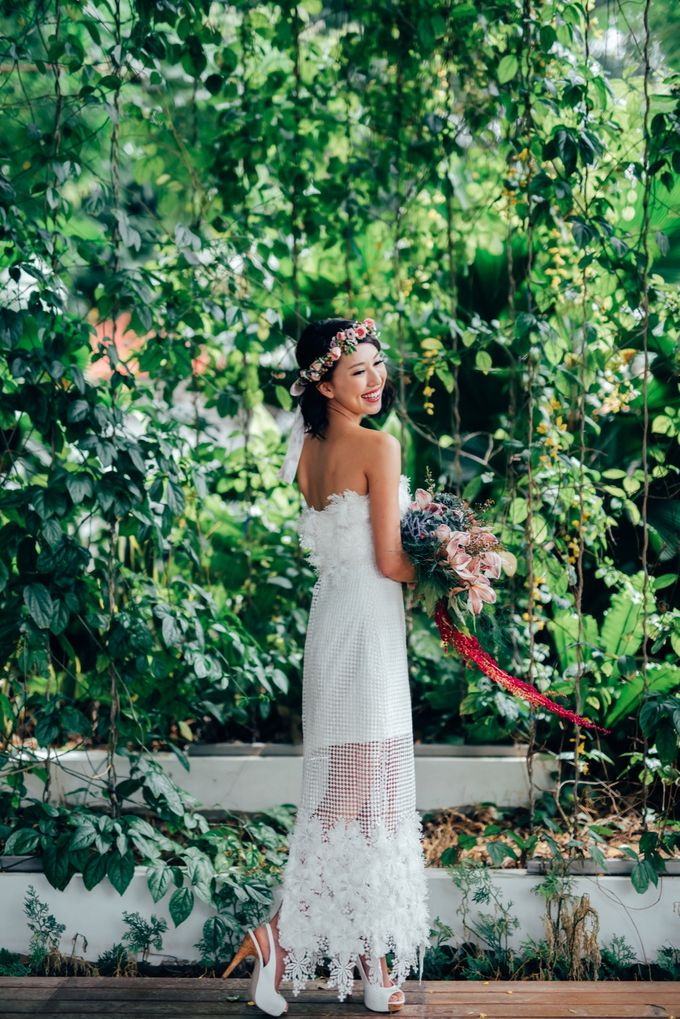 Styled Wedding Shoot with Melissa C Koh by Ever & Blue Floral Design - 004