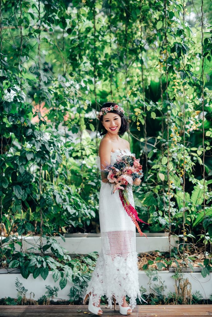 Styled Wedding Shoot with Melissa C Koh by Ever & Blue Floral Design - 005