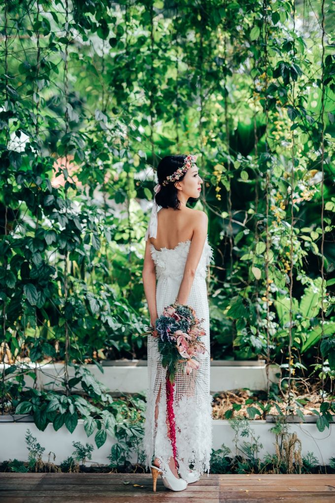 Styled Wedding Shoot with Melissa C Koh by Ever & Blue Floral Design - 006