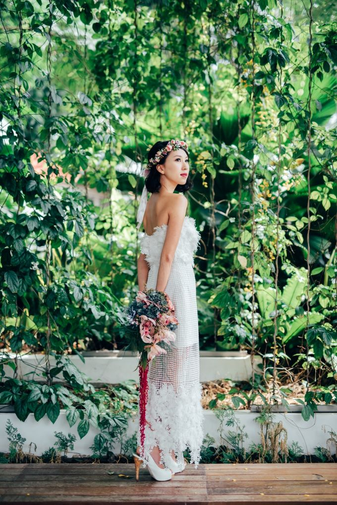Styled Wedding Shoot with Melissa C Koh by Ever & Blue Floral Design - 008