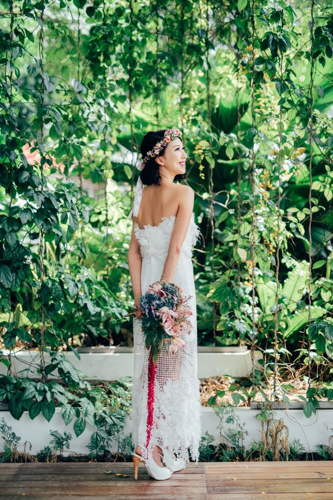 Styled Wedding Shoot with Melissa C Koh by Ever & Blue Floral Design - 009