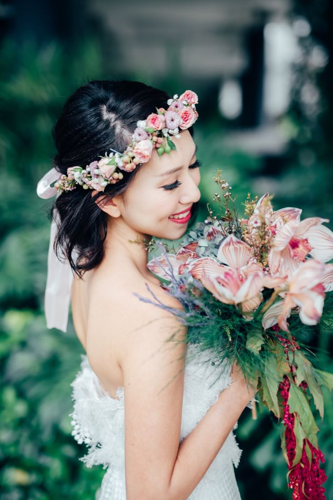 Styled Wedding Shoot with Melissa C Koh by Ever & Blue Floral Design - 010