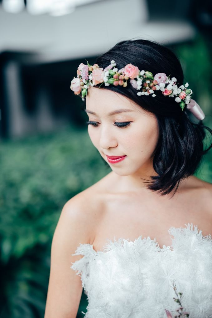 Styled Wedding Shoot with Melissa C Koh by Ever & Blue Floral Design - 012