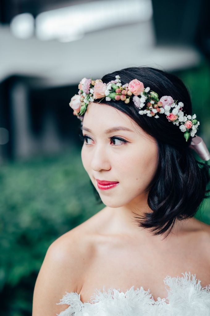 Styled Wedding Shoot with Melissa C Koh by Ever & Blue Floral Design - 013