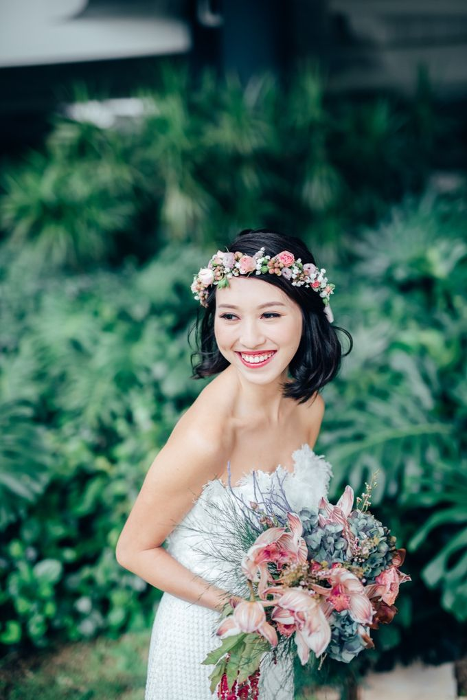 Styled Wedding Shoot with Melissa C Koh by Ever & Blue Floral Design - 015