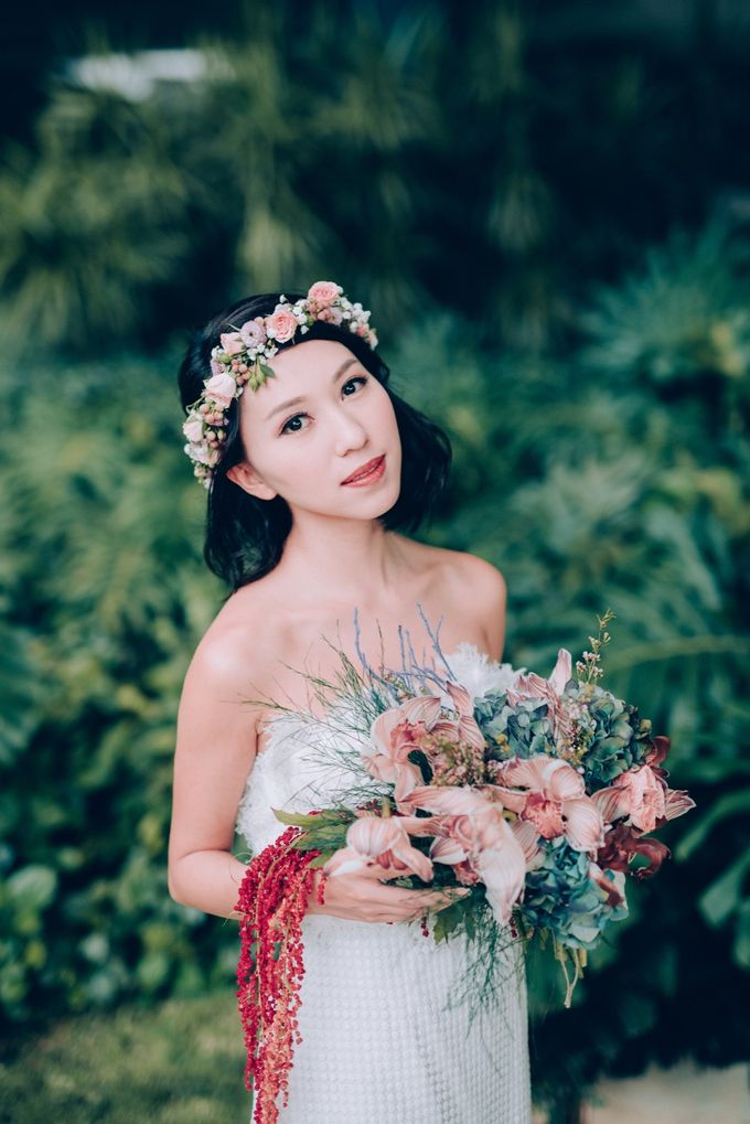 Styled Wedding Shoot with Melissa C Koh by Ever & Blue Floral Design - 016