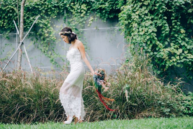 Styled Wedding Shoot with Melissa C Koh by Ever & Blue Floral Design - 017