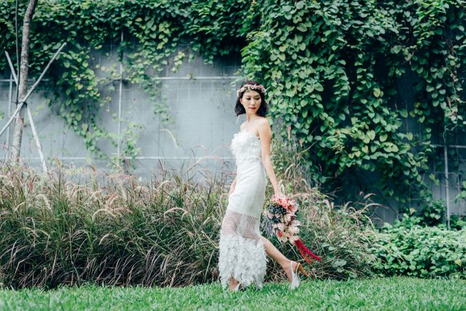 Styled Wedding Shoot with Melissa C Koh by Ever & Blue Floral Design - 018