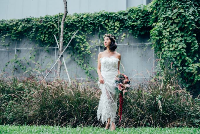 Styled Wedding Shoot with Melissa C Koh by Ever & Blue Floral Design - 019