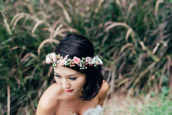 Styled Wedding Shoot with Melissa C Koh by Ever & Blue Floral Design - 021
