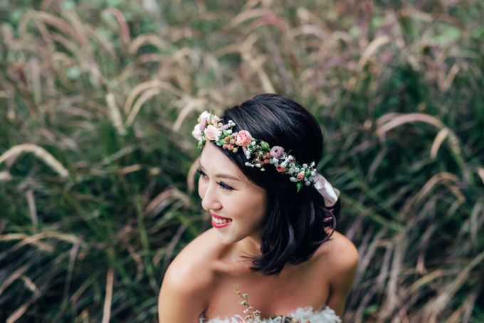 Styled Wedding Shoot with Melissa C Koh by Ever & Blue Floral Design - 022
