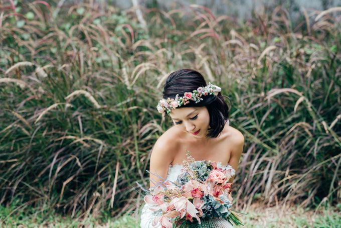 Styled Wedding Shoot with Melissa C Koh by Ever & Blue Floral Design - 023