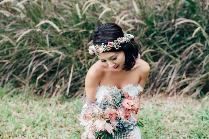 Styled Wedding Shoot with Melissa C Koh by Ever & Blue Floral Design - 024