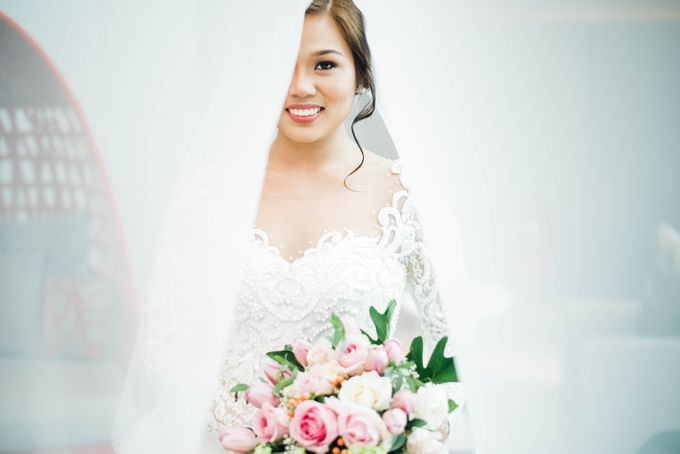 John and Mariz Wedding by The Makeup Studio by Rouchelle Battad - 021