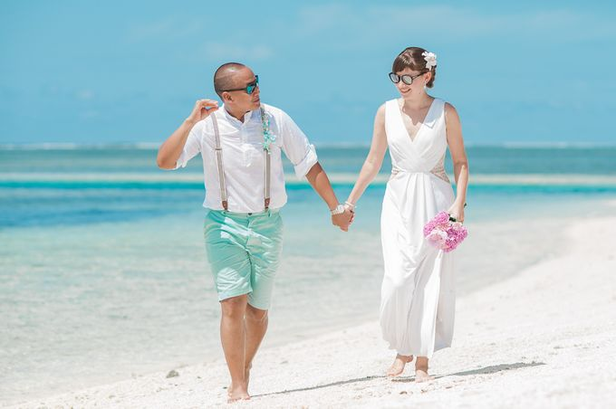 Ron and Aleenas  Beach Wedding in Maldives by Asad's Photography - 014