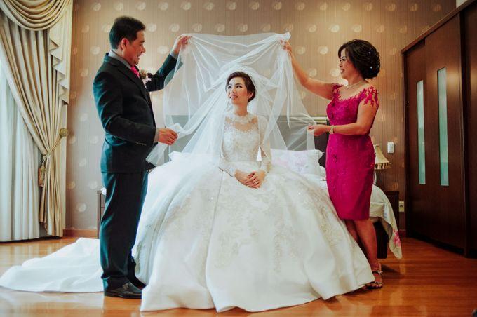 David & Melissa Wedding Day by DONNY LIEM The Make Up Art - 007