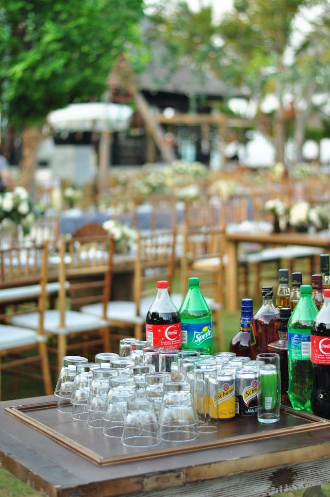 Wedding Dinner of Akta & Jinesh by The Royal Santrian Luxury Beach Villa - 002
