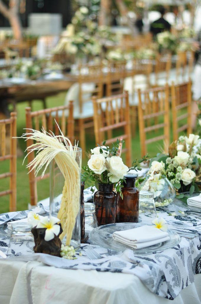 Wedding Dinner of Akta & Jinesh by The Royal Santrian Luxury Beach Villa - 003
