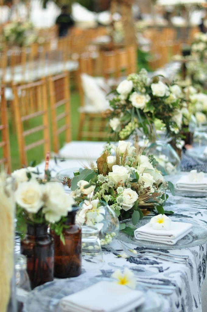 Wedding Dinner of Akta & Jinesh by The Royal Santrian Luxury Beach Villa - 004