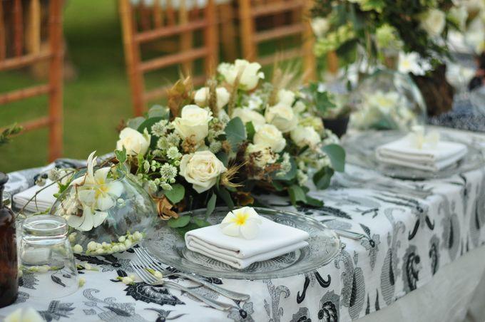 Wedding Dinner of Akta & Jinesh by The Royal Santrian Luxury Beach Villa - 006