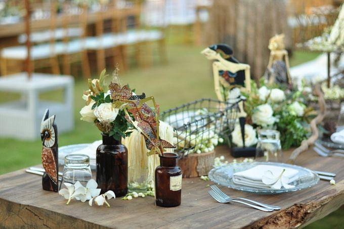 Wedding Dinner of Akta & Jinesh by The Royal Santrian Luxury Beach Villa - 007