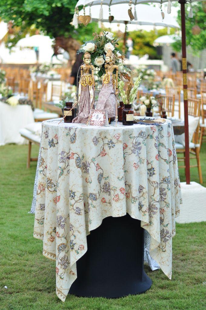 Wedding Dinner of Akta & Jinesh by The Royal Santrian Luxury Beach Villa - 008