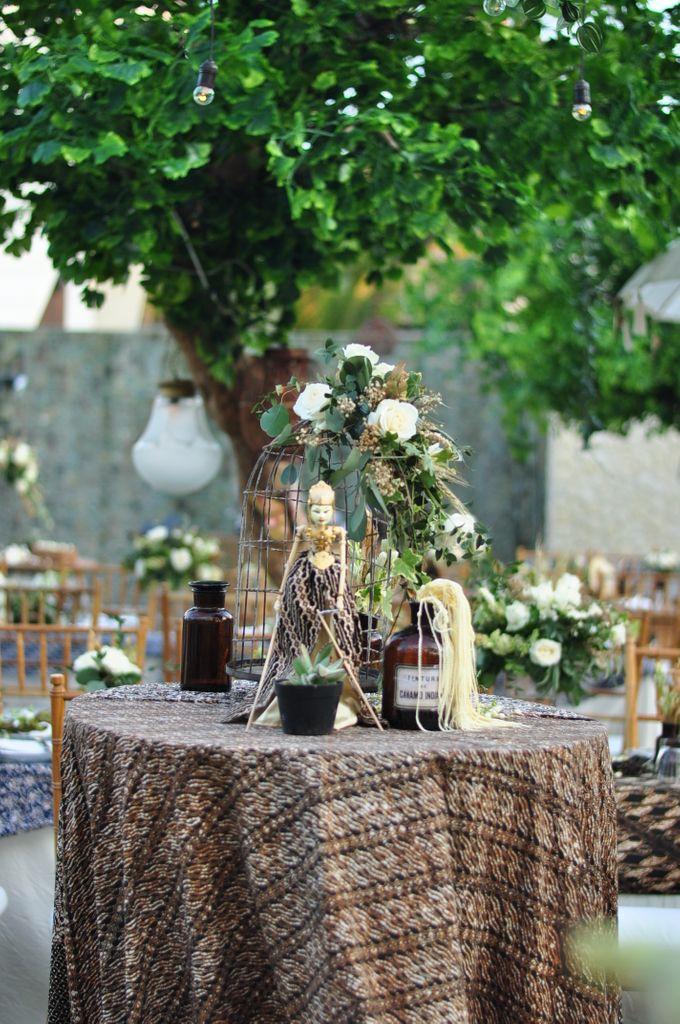 Wedding Dinner of Akta & Jinesh by The Royal Santrian Luxury Beach Villa - 016