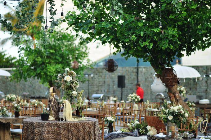 Wedding Dinner of Akta & Jinesh by The Royal Santrian Luxury Beach Villa - 017