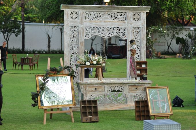 Wedding Dinner of Akta & Jinesh by The Royal Santrian Luxury Beach Villa - 021