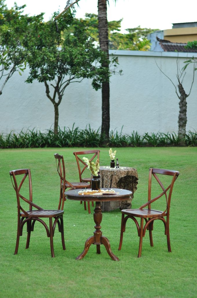 Wedding Dinner of Akta & Jinesh by The Royal Santrian Luxury Beach Villa - 023