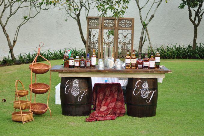 Wedding Dinner of Akta & Jinesh by The Royal Santrian Luxury Beach Villa - 024