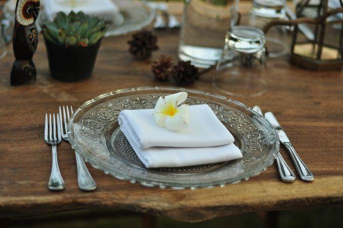 Wedding Dinner of Akta & Jinesh by The Royal Santrian Luxury Beach Villa - 027