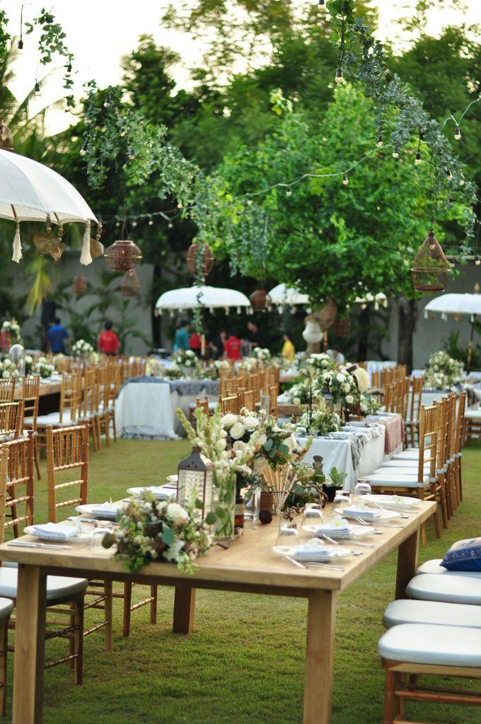 Wedding Dinner of Akta & Jinesh by The Royal Santrian Luxury Beach Villa - 028