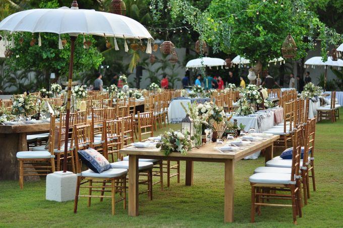 Wedding Dinner of Akta & Jinesh by The Royal Santrian Luxury Beach Villa - 029
