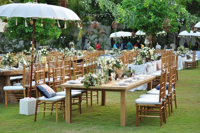 Wedding Dinner of Akta & Jinesh by The Royal Santrian Luxury Beach Villa - 030